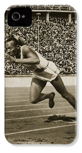 Jesse Owens IPhone 4s Case
