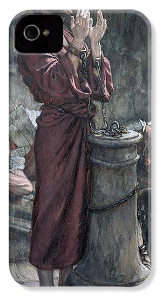Jesus In Prison IPhone 4s Case by Tissot