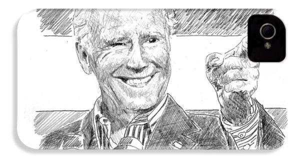 Joe Biden IPhone 4s Case by Shawn Vincelette