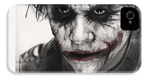 Joker Face IPhone 4s Case by James Holko