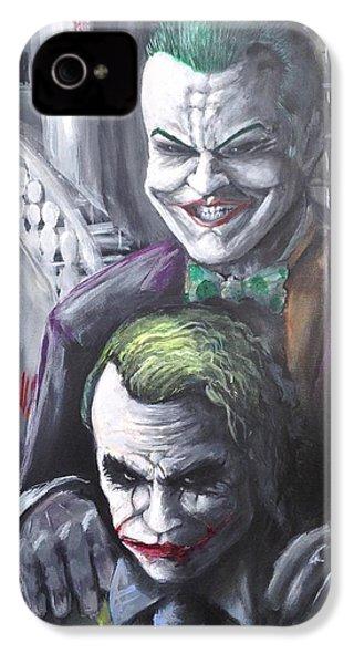 Jokery In Wayne Manor IPhone 4s Case by Tyler Haddox