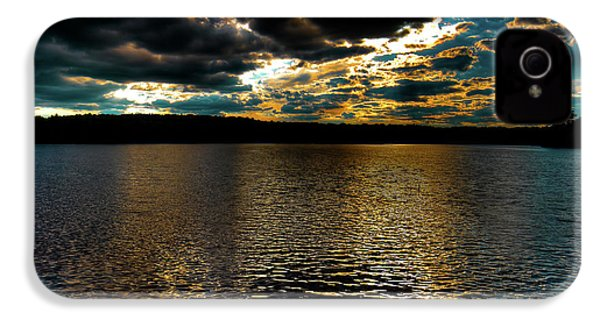 IPhone 4s Case featuring the photograph June Sunset On Nicks Lake by David Patterson