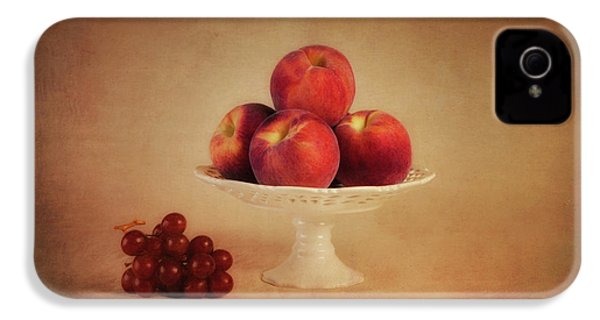 Just Peachy IPhone 4s Case by Tom Mc Nemar