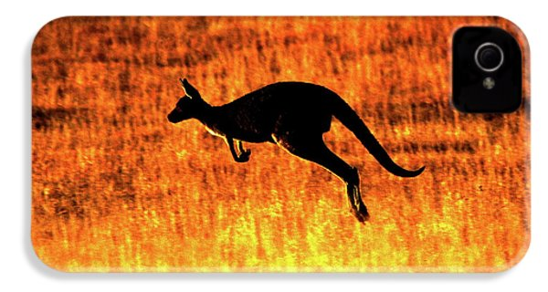 Kangaroo Sunset IPhone 4s Case by Bruce J Robinson