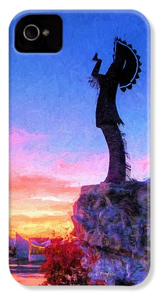 Keeper Of The Plains IPhone 4s Case by JC Findley