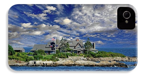 Kennebunkport, Maine - Walker's Point IPhone 4s Case by Russ Harris