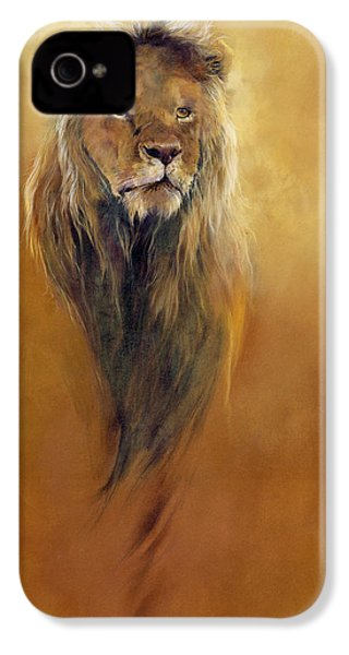 King Leo IPhone 4s Case by Odile Kidd