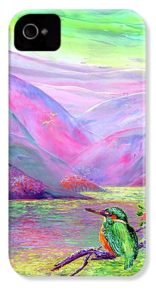 Kingfisher, Shimmering Streams IPhone 4s Case