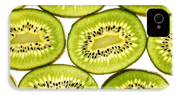 Kiwi Fruit II IPhone 4s Case by Paul Ge