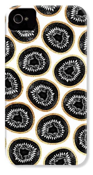 Kiwi Pattern IPhone 4s Case by Elisabeth Fredriksson