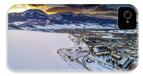 Lake Dillon Sunset IPhone 4s Case by Sebastian Musial
