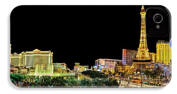 Las Vegas At Night IPhone 4s Case by Az Jackson