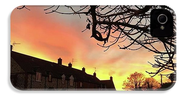 Last Night's Sunset From Our Cottage IPhone 4s Case by John Edwards
