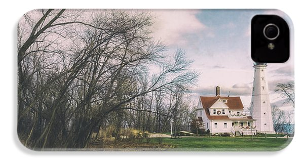 Late Afternoon At The Lighthouse IPhone 4s Case by Scott Norris