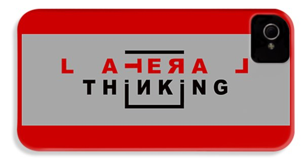 Lateral Thinking IPhone 4s Case by Mal Bray