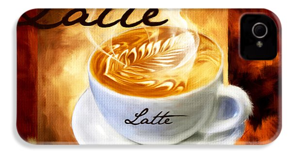 Latte IPhone 4s Case by Lourry Legarde