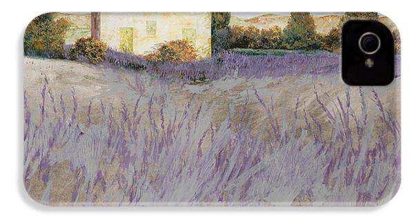 Lavender IPhone 4s Case by Guido Borelli