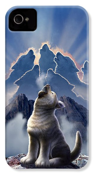 Leader Of The Pack IPhone 4s Case by Jerry LoFaro