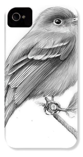 Least Flycatcher IPhone 4s Case