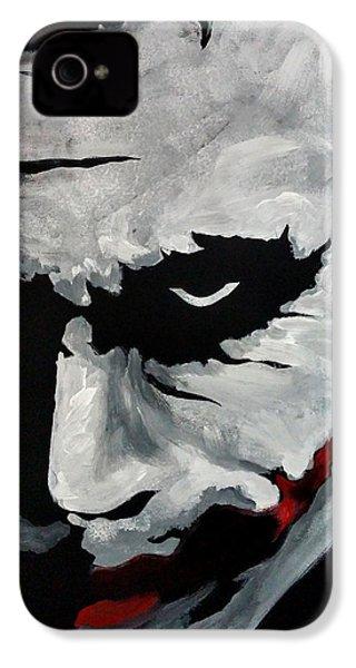 Ledger's Joker IPhone 4s Case by Dale Loos Jr
