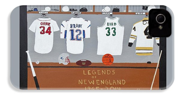 Legends Of New England IPhone 4s Case by Dennis ONeil