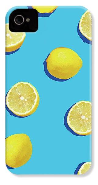Lemon Pattern IPhone 4s Case by Rafael Farias