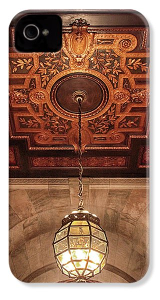 IPhone 4s Case featuring the photograph Library Light by Jessica Jenney