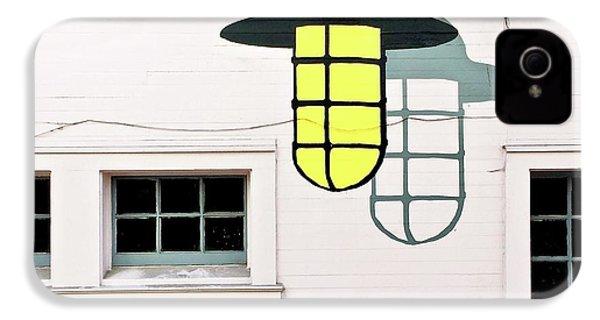 Light Bulb Mural IPhone 4s Case by Julie Gebhardt