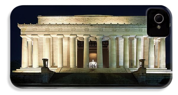 Lincoln Memorial At Twilight IPhone 4s Case by Andrew Soundarajan
