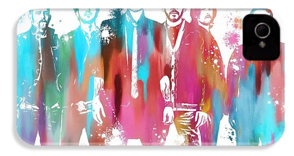 Linkin Park Watercolor Paint Splatter IPhone 4s Case by Dan Sproul