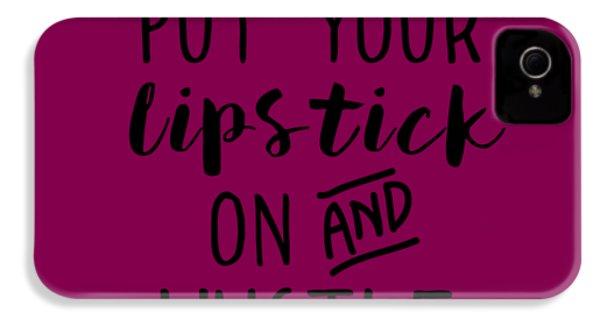 Lipstick  IPhone 4s Case by Elizabeth Taylor