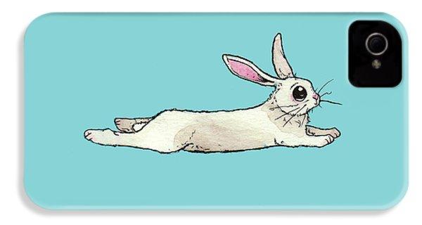 Little Bunny Rabbit IPhone 4s Case by Katrina Davis