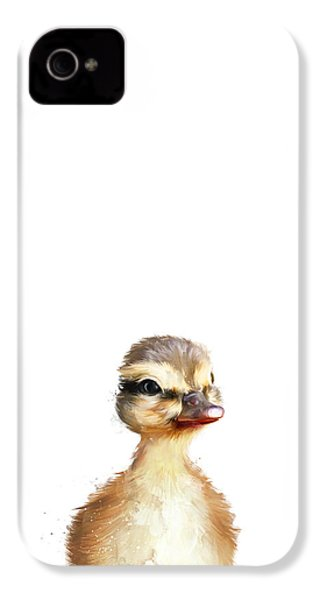Little Duck IPhone 4s Case by Amy Hamilton