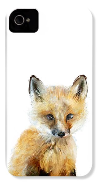 Little Fox IPhone 4s Case by Amy Hamilton