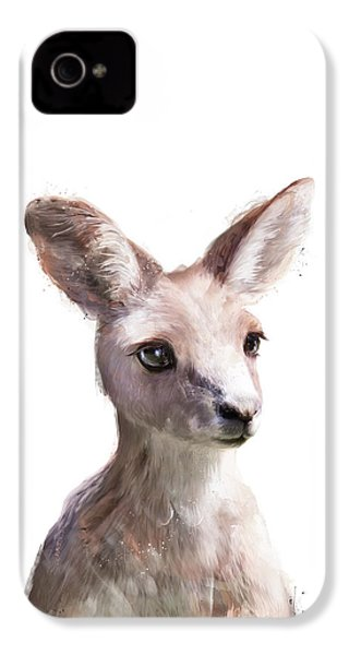 Little Kangaroo IPhone 4s Case by Amy Hamilton