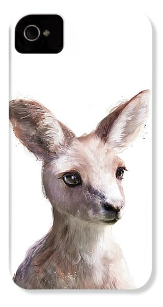 Little Kangaroo IPhone 4s Case by Amy Hamilton