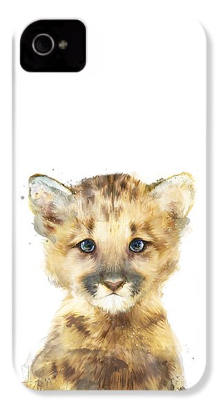 Little Mountain Lion IPhone 4s Case by Amy Hamilton