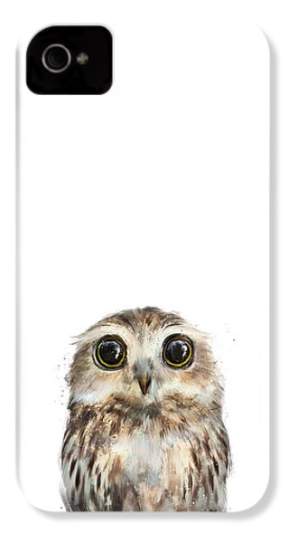 Little Owl IPhone 4s Case by Amy Hamilton