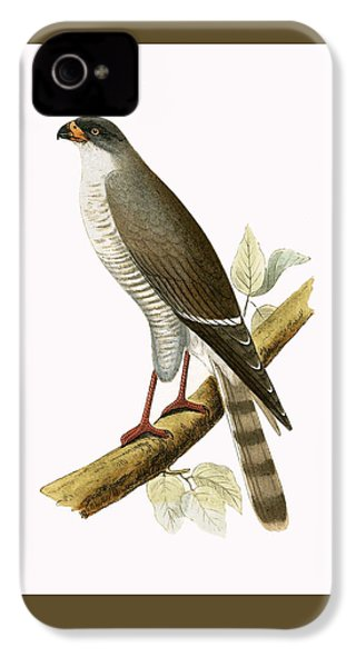 Little Red Billed Hawk IPhone 4s Case by English School