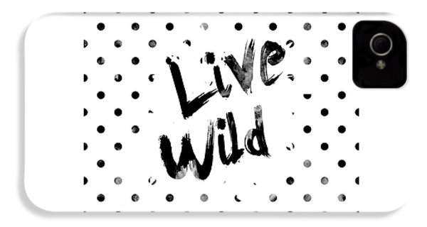 Live Wild IPhone 4s Case by Pati Photography