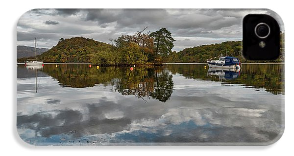 Loch Lomond At Aldochlay IPhone 4s Case by Jeremy Lavender Photography