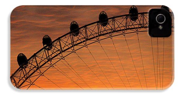 London Eye Sunset IPhone 4s Case by Martin Newman