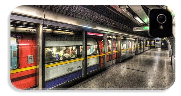 London Underground IPhone 4s Case by David Pyatt