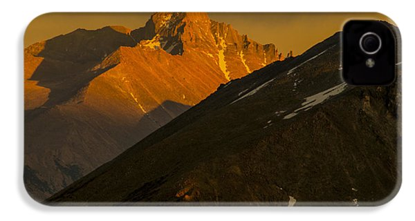 Long's Peak IPhone 4s Case by Gary Lengyel
