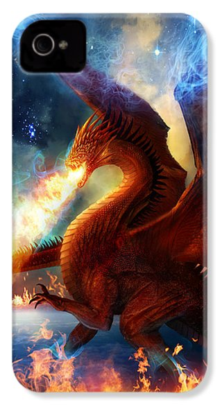 Lord Of The Celestial Dragons IPhone 4s Case by Philip Straub