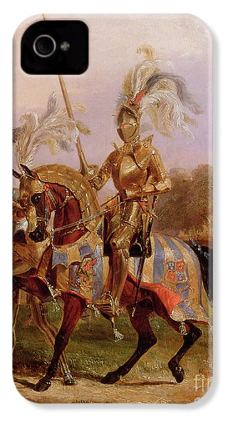 Lord Of The Tournament IPhone 4s Case by Edward Henry Corbould