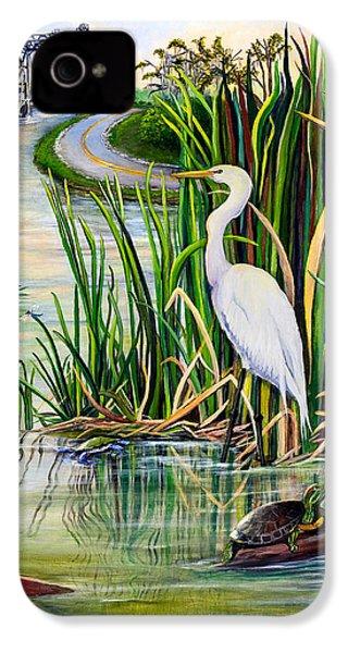 Louisiana Wetlands IPhone 4s Case