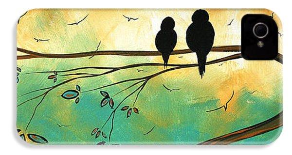 Love Birds By Madart IPhone 4s Case
