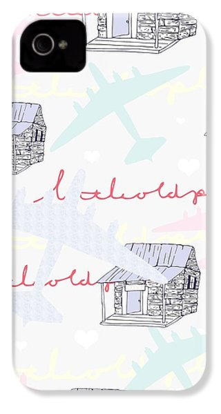 Love Shack IPhone 4s Case by Beth Travers