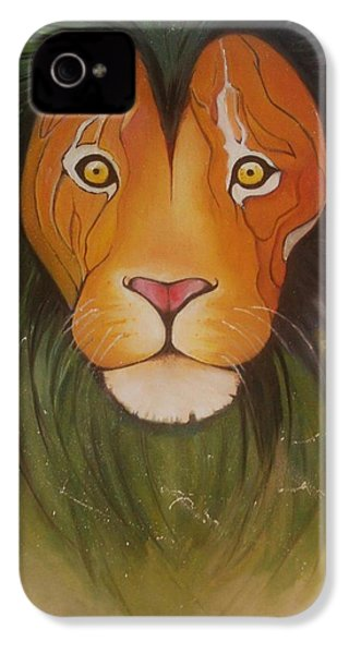 Lovelylion IPhone 4s Case by Anne Sue